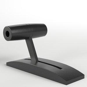 3D lever ready model