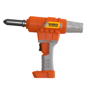 riveter industrial tool 3D model
