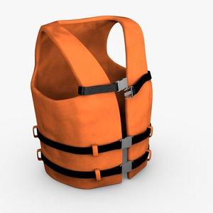 3D safe vest