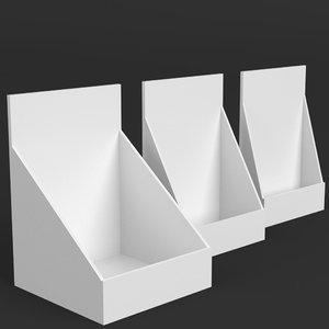 table display mockups model