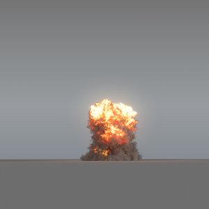 explosion - vdb 3D model