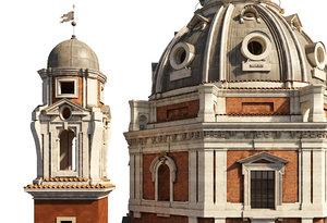 3D italian santa maria di
