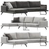 doimo salotti philip sofa 3D