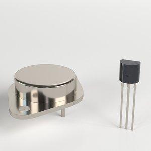 transistors power ready 3D model