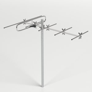 3D vhf antenna