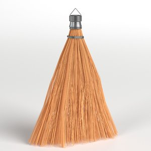 3D model whisk broom