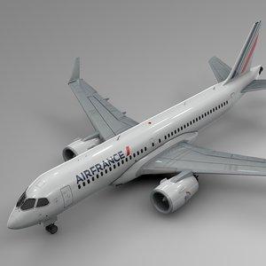 3D air france airbus a220-300