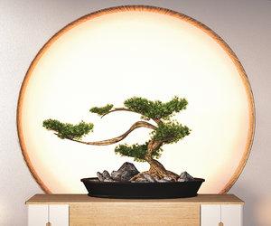 3D model bonsai japan