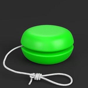3D yo-yo toy
