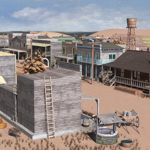 western town west 3D