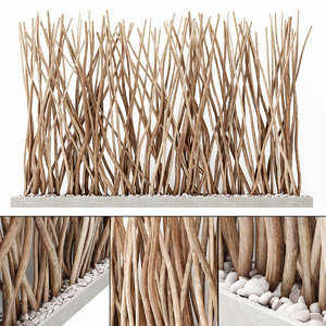branch planter plant model