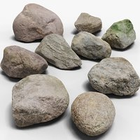 3D pack stones