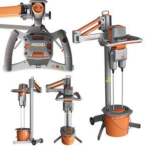 3D drill mixer