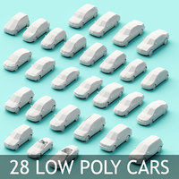 3D assembly cars model