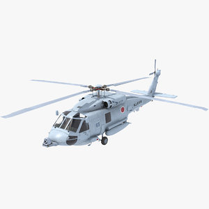 3D seahawk helicopter navy