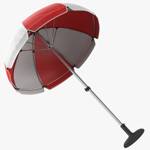 umbrella modeled pbr model
