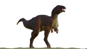 3D model iguanadon dinosaur blender