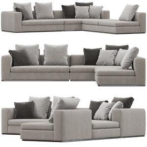 marelli matheus sofa 3D model