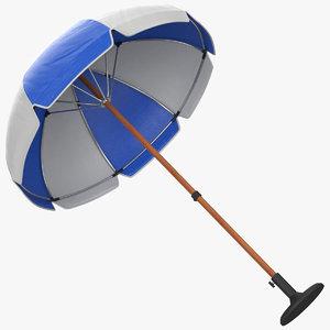 3D umbrella modeled pbr