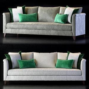 3D baker sofa model
