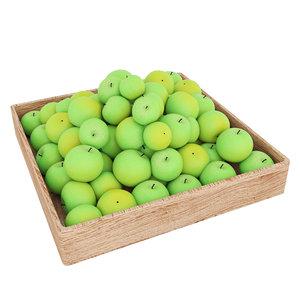 apple fruits 3D model