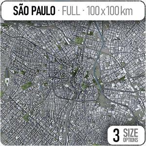 3D sao paulo surrounding -