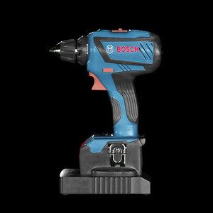 3D drill tool model