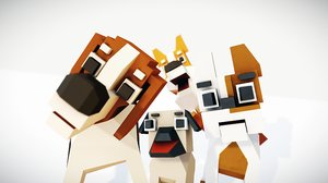 simple pack dogs model