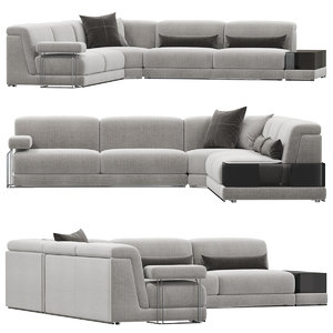 3D model milano joe sofa