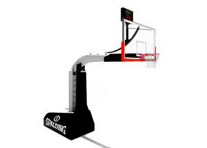 basketball backboard 3D model