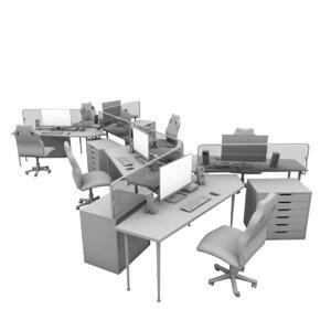 3D work station