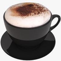 3D coffee latte art