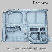 3D peugeot expert iii l1 model
