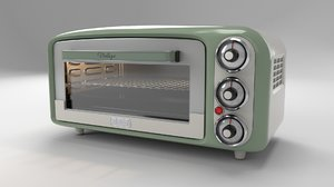 vintage oven 3D model