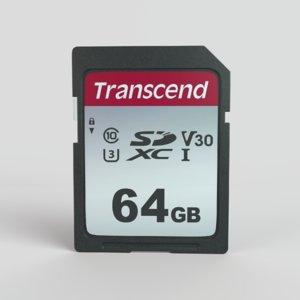 3D sd memory card model