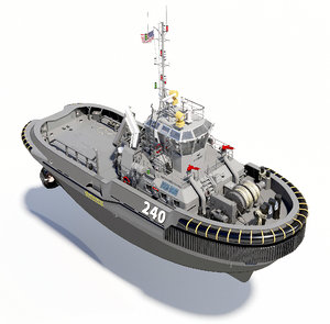 3D military tug
