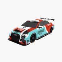 Audi RS3 LMS TCR Leopard Racing