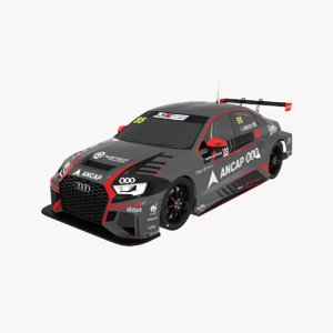 audi rs3 lms tcr 3D