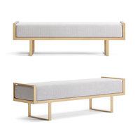 bench seat ottoman 3D