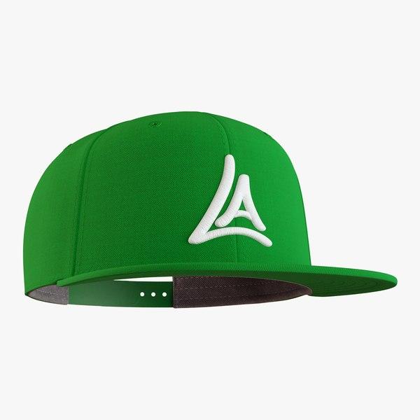 snapback cap model