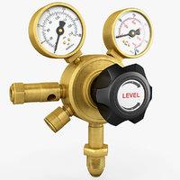 Gauge Pressure Gas