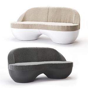 3D sofa streem karim rashid