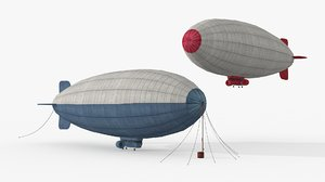 3D airships ready games