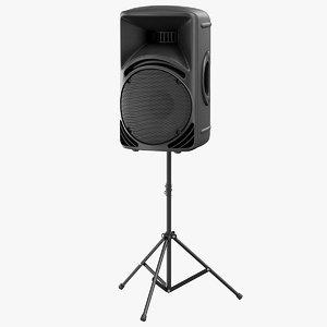 3D stage speaker