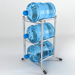 obj rack bottle