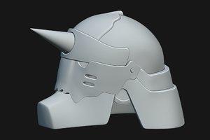 helmet fullmetal alchemist model