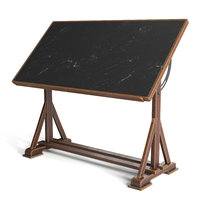 Drafting Table with black board
