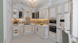 kitchen furniture design rauf 3D model