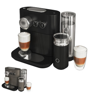 coffee nespresso expert milk model