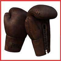 Old Vintage Antique Boxing Gloves